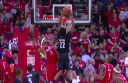 Andrew Wiggins Dunks All Over Josh Smith