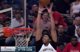 Anthony Davis Almost Got a Quadruple-Double