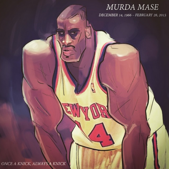 Anthony Mason 'Murda Mase' Illustration