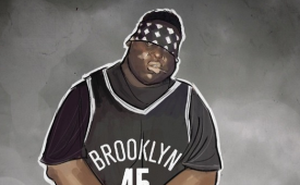Biggie x Brooklyn Nets Illustration