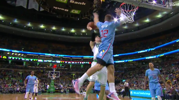 Blake Griffin Makes a 180 Block