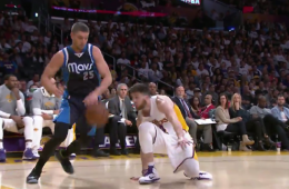 Chandler Parsons Breaks Ryan Kelly's Ankles