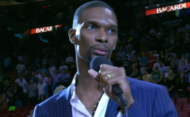Chris Bosh Thanks Miami Heat Fans