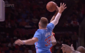 Corey Brewer Dunks All Over Blake Griffin