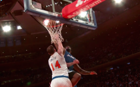 DeAndre Jordan Dunked All Over the Knicks