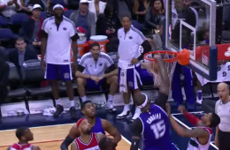 DeMarcus Cousins Alley-oop Smash