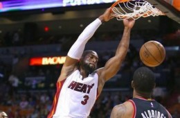 Dwyane Wade Pours In 32 Points to Beat Blazers