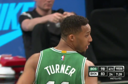 Evan Turner Racks Up a Triple-Double