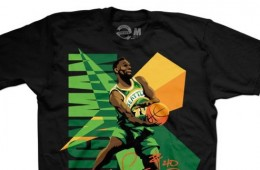 Fresh Brewed Tees 'Shawn Kemp Seattle Legends' Tee