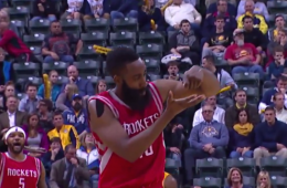 James Harden Drops 44 Points on the Pacers