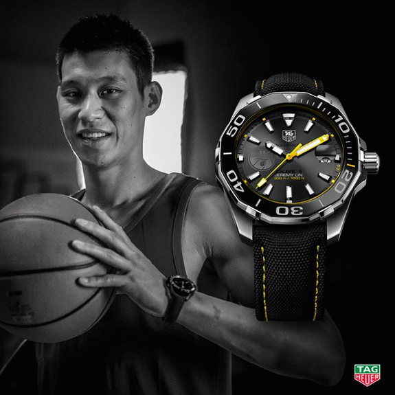 Jeremy Lin Joins TAG Heuer