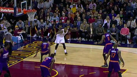 JR Smith Drops Brandon Knight with a Crossover