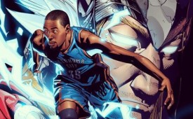 Kevin Durant x Thor Illustration