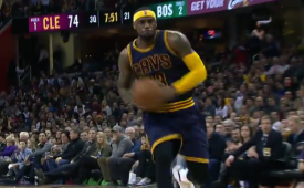 LeBron James Passes Ray Allen on Scoring List