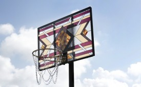Stained Glass 'Literally Balling' Backboards