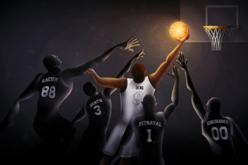 Luol Deng 'Path of Righteousness' Illustration