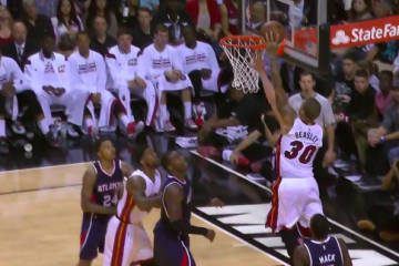 Michael Beasley Returns with a Poster Dunk