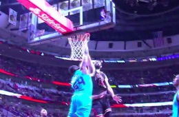 Nikola Mirotic Dunks All Over Jason Maxiell