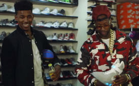 Nick Young and 2 Chainz Shop for $25K Jordans