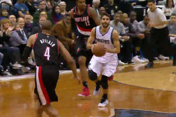 Ricky Rubio Drops 15 Dimes In Twolves Win