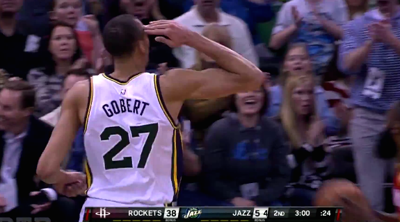 Rudy Gobert Monster 19 Points and 22 Rebounds