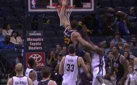 Rudy Gobert Reels In Career-High 24 Rebounds