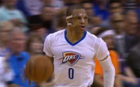 Russell Westbrook Picks Up His 10th Triple-Double