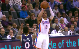Russell Westbrook Notches 9th Triple-Double