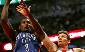 Serge Ibaka Out Indefinitely