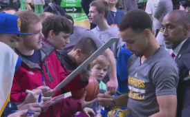 Stephen Curry Leads an Epic Comeback