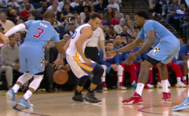 Stephen Curry Turns CP3 Inside Out, Twice