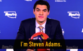 Steven Adams Spins a Yarn For BancFirst