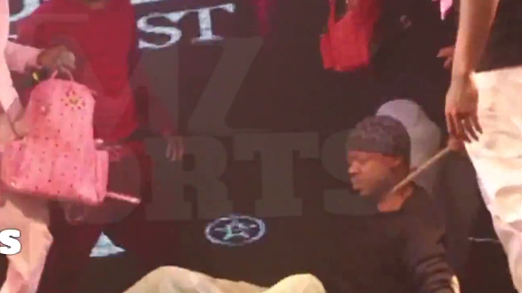 Steve Francis Got His Chain Snatched, Hard
