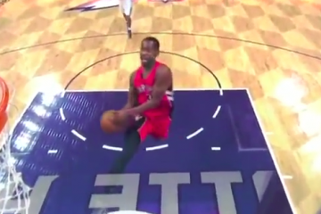Terrence Ross With a Nasty Windmill