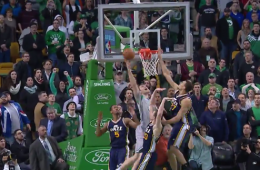 Tyler Zeller Sinks Utah at the Buzzer