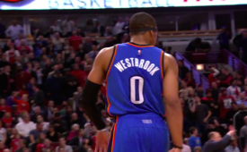 Russell Westbrook Has a Monster Night, Drops 43