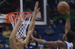 Andrew Wiggins Dunks On Rudy Gobert, Twice