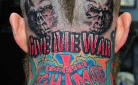Chris Andersen Got a Crazy Tattoo on His Head