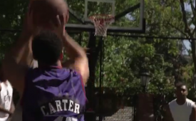 Drake Goes Off Like Vince Carter Playing Pick-Up