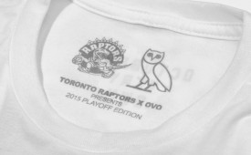 Drake Unveils New Raptors x OVO Playoff Tees