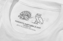 Drake Unveils New Raptors 'OVO' Playoff Tees