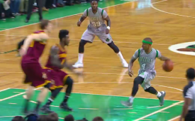 Isaiah Thomas Drops An Amazing Dime