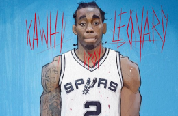 Kawhi Leonard 'DPOY CLAW' Illustration