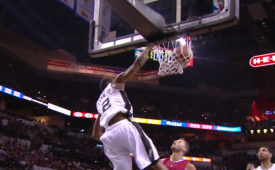 Kawhi Leonard Scores Career-High 32 Points