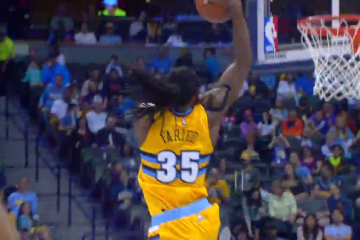 Kenneth Faried Records a Season-High 30 Points