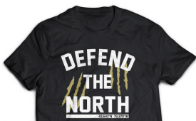 Loyal to a Tee 'Defend The North' Tee