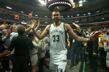 Marc Gasol and Grizzlies Close Out Portland