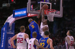 Marreese Speights Dunks All Over Big Baby