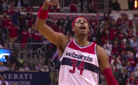 Paul Pierce Destroys Raptors In the Clutch, Again