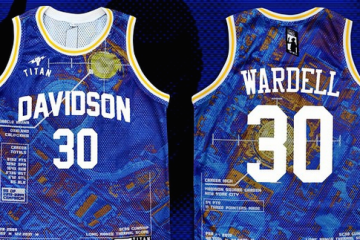 Titan x Stephen Curry 'Wardell' Jersey